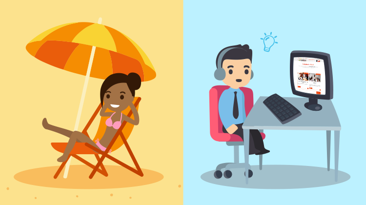 [MOOC Office 365] Aren't you on vacation? Neither do we!