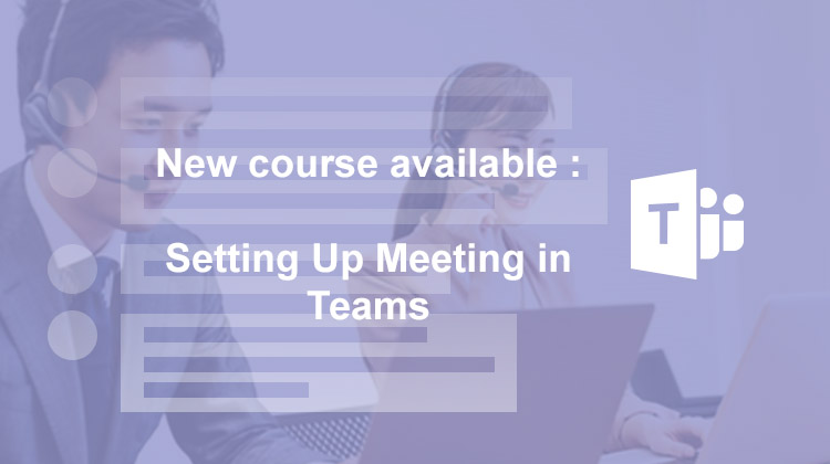 Teams-Setting up meetings in Teams