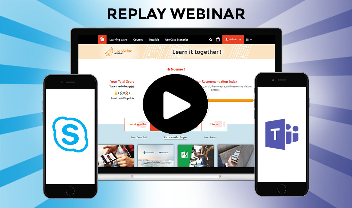 Webinar about Skype and Teams